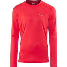 Marmot Windridge longsleeve Heren, tomato